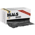 5,5m MoVeS LatexBand zeerzwaar - zwart