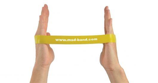 MSD-Band Loop licht-geel